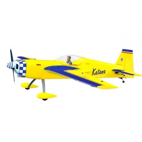 Katana 36%- 100cc - Ap.alare (mm) 2690 - L. fusoliera (mm) 2360 - Peso (g) 11800~12710