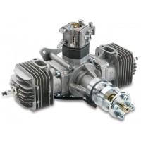 DLE-60 TWIN - (2Tempi Benzina) CON CENTRALINA, SILENZIATORI E CANDELE - ULTIMA VERSIONE PRODOTTA