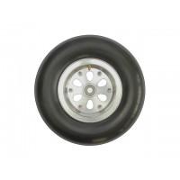 """5"""" Air Inflatable Wheel w/aluminum hub and ball bearigs (1pc.) - RUOTA GONFIABILE CON BATTISTRADA RIGATO E CERCHIO IN ALLUMINIO"""