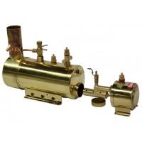SAITO B2F Boiler and Burner in one unit (CALDAIA E BRUCIATORE)