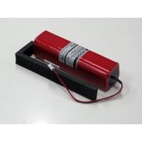 BATTERIA TX Ni-Cd 8N600L 600mAh (CON CAVETTO) PER X2610, X2720, PCM9X, 9XII
