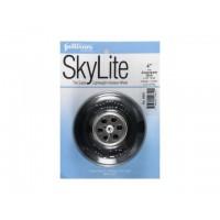 """Sullivan - Ruota SkyLite con cerchio in alluminio e boccola in Nylon D: 102mm - Spessore: 35mm - Peso: 95g (D: 4"""" Wide 1-3/8"""" -"""
