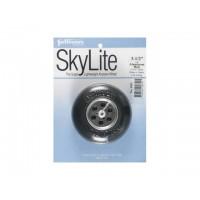 """Sullivan - Ruota SkyLite con cerchio in alluminio e boccola in Nylon D: 89mm - Spessore: 30mm - Peso: 56g (D: 3-1/2"""" Wide 1-3/16"""
