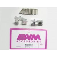 BVM JETS - Aluminum Gear Door hinges CNC machined - CERNIERE IN ALLUMINIO LAVORATO A CNC  PER PORTELLI CARRELLI (2Pz)