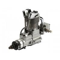 SAITO FG-17 Gasoline Engine (4Tempi Benzina) CON CENTRALINA, CASTELLO MOTORE IN ALLUMINIO E SILENZIATORE
