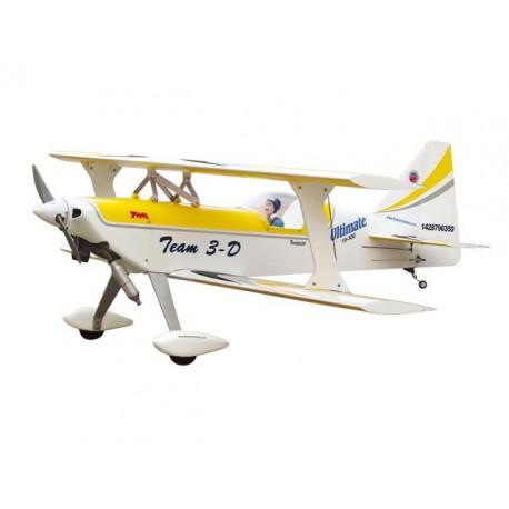 Ultimate - 120R (GIALLO-BIANCO) - Ap.alare (mm) 1360 - L. fusoliera (mm) 1420 - Peso (g) 4480