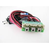 PowerBox-Systems - PROLUNGA CON BASETTA PER RICARICA BATTERIE - L:50cm - PER TRE BATTERIE