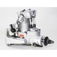 SAITO FG-11 Gasoline Engine (4Tempi Benzina) CON CENTRALINA, CASTELLO MOTORE IN ALLUMINIO E SILENZIATORE