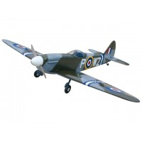 Spitfire - 60 - Scala 1/7 con carrelli retrattili - Ap.alare (mm) 1600 - L. fusoliera (mm) 1350 - Peso (g) 3300