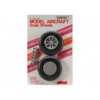 "Robart - 3.50"" SCALE X-TREAD WHEEL - COPPIA RUOTE 89mm - BATTISTRADA RIGATO A ""X"""