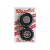 "Robart - 3.25"" SCALE WHEELS - COPPIA RUOTE 83mm - BATTISTRADA RIGATO"