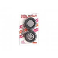 "Robart - 3.25"" SCALE X-TREAD WHEEL - COPPIA RUOTE 83mm - BATTISTRADA RIGATO A ""X"""