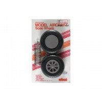 "Robart - 3.00"" SCALE X-TREAD WHEEL - COPPIA RUOTE 76mm - BATTISTRADA RIGATO A ""X"""