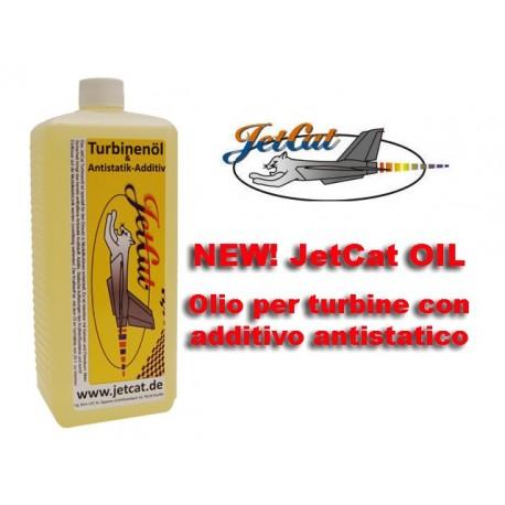 JetCat - Olio con additivo antistatico per Kerosene (1L)