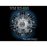 Valach/FIALA Motor - VM R7-800 RADIAL ENGINE 800ccm