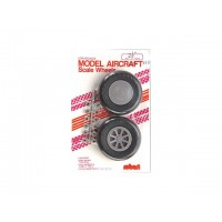 "Robart - 2.50"" SCALE WHEELS - COPPIA RUOTE 63mm - BATTISTRADA RIGATO"