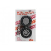 "Robart - 2.50"" SCALE X-TREAD WHEEL - COPPIA RUOTE 63mm - BATTISTRADA RIGATO A ""X"""