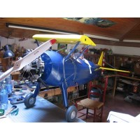 STEARMAN PT-17 Scala: 1/3 BALSA KIT - Ap.alare Superiore 2950 - Inferiore 2950 (mm) - L. fusoliera 2340 (mm) - Peso 22000~25000