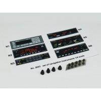 Set of navigation instruments - SET SRUMENTI PER COCKPIT SCALA 1/3