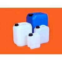 CANISTER - TANICA colore NEUTRO (5L) omologata UN  per il trasporto terrestre, aereo e marittimo di prodotti liquidi pericolosi,
