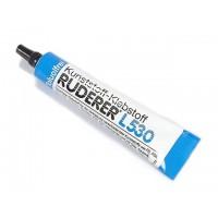 RUDERER L530 - Collante specifico per l'icollaggio delle capottine degli aeromodelli. Tenacissima. Tubo da 20g.