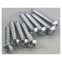 DUBRO - 2 x 1/2 Button Head Sheet Metal Screws - VITE AUTOFILETTANTE TESTA BOMBATA A BRUGOLA .050 - L: 12.7mm (8Pz)