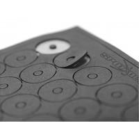 Floating Pad d:3.2 x D:15 x 0.8(50Pc.) Rondelle in neoprene antivibrantiadesive d:3.2 x D:15 x Spess.:0.8mm (10Pz)