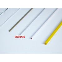 BOWDEN TRASPARENTE (ESAGONALE ESTERNAMENTE) L:915mm D.int.: 2,2mm D.est.3,7mm