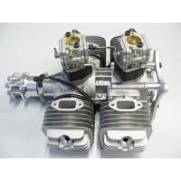 DLE-222 V3 - (2Tempi Benzina) CON CENTRALINA, SILENZIATORI E CANDELE - ULTIMA VERSIONE PRODOTTA