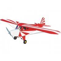 Clipped Wing Cub - 48C (ROSSO-BIANCO) - Ap.alare (mm) 1600 - L. fusoliera (mm) 1200 - Peso (g) 2500