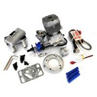 NGH Engines - GT35R - (2Tempi Benzina) CON CENTRALINA, SILENZIATORE E CANDELA - ULTIMA VERSIONE PRODOTTA