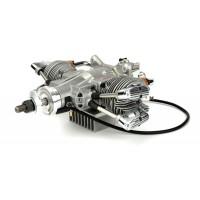 SAITO FG-57TS TWIN S Gasoline Engine (4Tempi Benzina) CON CENTRALINA E SCARICHI FLESSIBILI