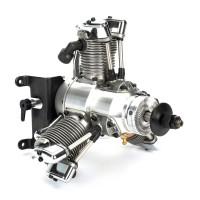 SAITO FG-33 R3 Radial Gasoline Engine (4Tempi Benzina) CON CENTRALINA E SCARICHI FLESSIBILI
