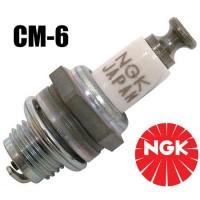 CANDELA NGK CM-6 per motori a benzina quali DA, DLE, OS55GT, SAITO FG30, FG36, ecc. (Made in Japan)