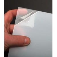 LASTRA IN PVC EXTRA-TRASPARENTE CON PELLICOLA PROTETTIVA 1,5x400x500mm