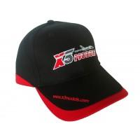 BASEBALL CAP BLACK/RED X3Models - CAPPELLO BASEBALL X3Models NERO/ROSSO