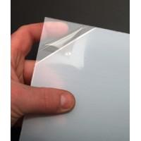 LASTRA IN PVC EXTRA-TRASPARENTE CON PELLICOLA PROTETTIVA 1,5x300x500mm