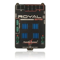 PowerBox-Systems - ROYAL SRS CON iGYRO (GIROSCOPIO) INTEGRATO - CENTRALINA POWER BOX CON INTERRUTTORE, DISPLAY LCD, SENSORE GPS,