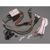 CENTRALINA ELETTRONICA COMPLETA DI SENSORE PICK-UP - DLE 40, DLE 60 TWIN, DL100, DLE 111(V1),  DLE 111(V2),  DLE 111(V3), DLE 12
