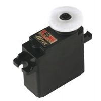 HITEC - D-85MG - SERVO DIGITALE - 3.6~4.3Kg / 0,17~0,13s/60°(4.8~6.0V) - peso: 24g - INGR. METALLO - MIS.29x13x30mm - 2 CUSCINET