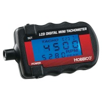 HOBBICO - Mini Digital Tachometer w/Blue Backlight - CONTAGIRI CON DISPLAY DIGITALE BLU RETROILLUMINATO