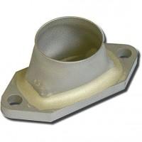 FLANGIA ACCIAIO INOX PER DL-50, DL-100, DLE-55, DLE-111-V1-V2-V3, DLA-56, DLA-112, 3W-60, DA-50, DA-100 - TUBO D:25mm CON IMBUET