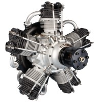 Valach/FIALA Motor - FM R5-420 RADIAL ENGINE 420ccm