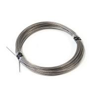 Pull-Pull Wire dia:1.0mm (nylon coated) 10mt - Cavo in acciaio ricoperto in nylon per tiranteria - d: 1.0mm - Lunghezza: 10m