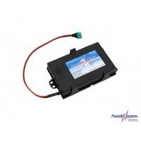 PowerBox-Systems - BATTERIA LiPo 4000mAh, spinetta MPX-PIK, cavo 1,00mm² e supporto di fissaggio