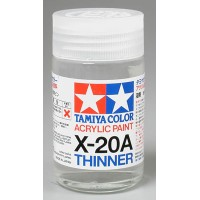 X-20A Thinner DILUENTE PER ACRILICI (46ml)