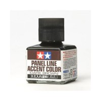 TAMIYA - PANEL ACCENT LINE Dark Brown - ACCENTUATORE DETTAGLI (40ml)