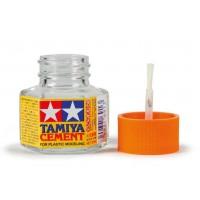 TAMIYA - PLASTIC CEMENT 20ml - COLLA PER PLASTICA CON PENNELLO