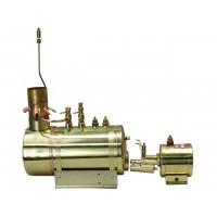 SAITO B2G Boiler and Burner in one unit (CALDAIA E BRUCIATORE)