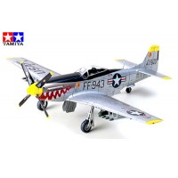 TAMIYA - AEREO NORTH AMERICAN F-51D MUSTANG KOREAN WAR 1:72